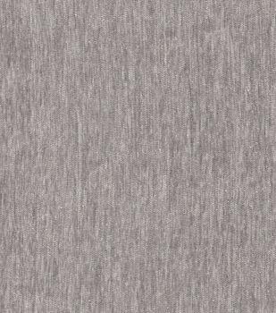 Signature Series Upholstery Velvet Fabric-Light Gray