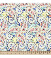Springmaid® Cotton Fabric-Adele Paisley , , hi-res
