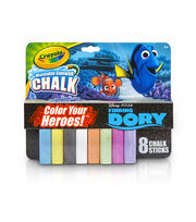 Crayola 8ct Sidewalk Chalk-Finding Dory, , hi-res