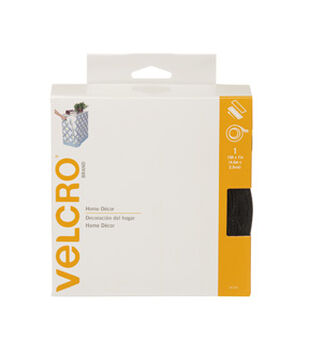 "VELCRO® Brand Home Decor 1"" x 15'-2 Colors"