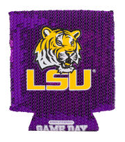 Louisiana State University NCAA Sequin Koozie, , hi-res