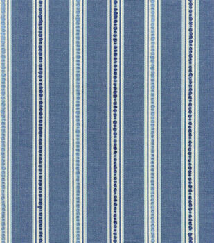 Waverly Upholstery Fabric-Emmaline/Bluejay