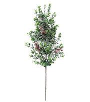 Blooming Holiday Eucalyptus English Box Berry Spray, , hi-res