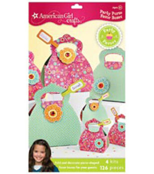 American Girl Party Purse Favor Boxes