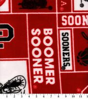 University of Oklahoma NCAA  Fleece Fabric, , hi-res