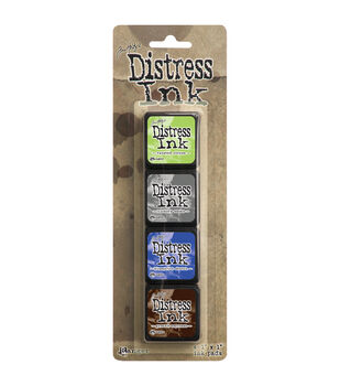 Ranger® Distress Mini Ink Pad Kits-Kit 14