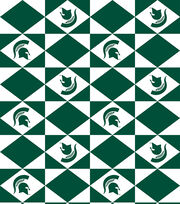 Michigan State NCAA Tablecloth Vinyl, , hi-res