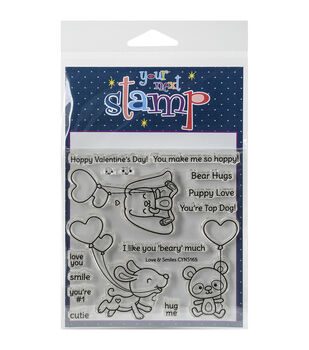 Your Next Stamp Clear Stamps-Love & Smiles
