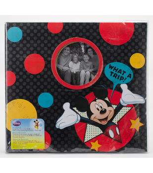 Mickey Mouse What A Trip Scrapbook