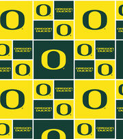 University of Oregon NCAA  Cotton Fabric, , hi-res