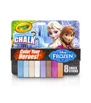 Crayola 8ct Sidewalk Chalk-Frozen, , hi-res