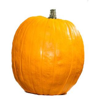 Fun-Kins 17'' Orange Carvable Pumpkin