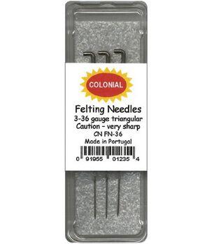 Felting Needles-Size 36 3/Pkg