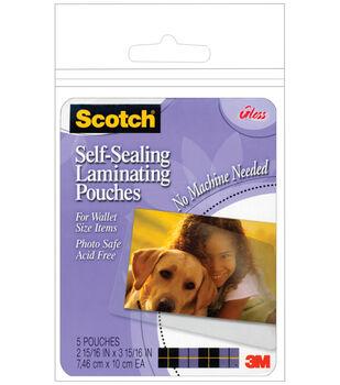 Scotch Self-Sealing Laminating Pouches 5/Pkg