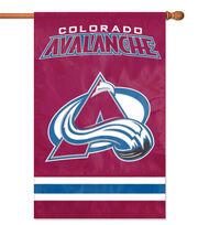Colorado Avalanche NHL Applique Banner Flag, , hi-res