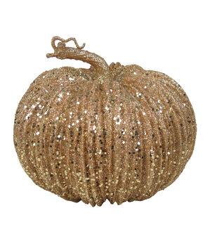Pumpkin Boutique Medium Pumpkin-Gold Glitter