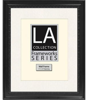 16x20 la black wall frame