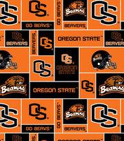 Oregon State NCAA  Fleece Fabric, , hi-res