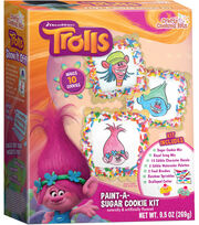 Dreamworks Trolls Paint-A-Sugar Cookie Kit, , hi-res