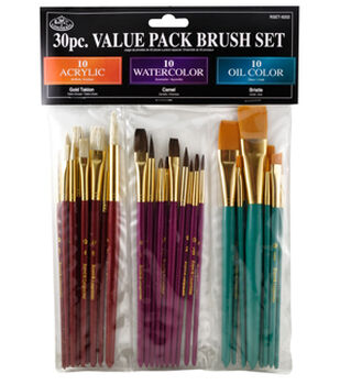 30pc Value Brush Set