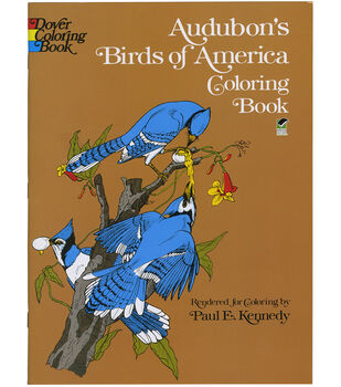 Adult Coloring Book-Dover Publications Audubon's Birds Of America