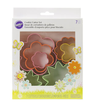 Cookie Cutter Set 7/Pkg-Mini Garden