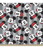Disney Mickey And Minnie Fleece Fabric, , hi-res