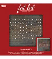 Fab Lab™ Noel-String Art Kit, , hi-res