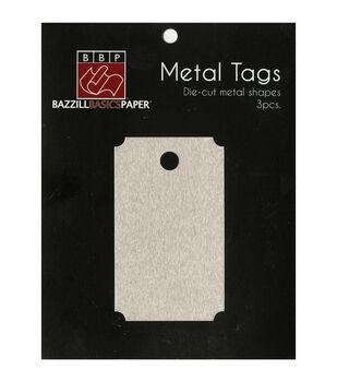 Metal Tags 3/Pkg-Movie Ticket