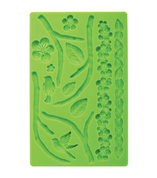 Wilton® Fondant And Gum Paste Silicone Mold Nature
