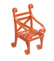 Fairy Garden Metal Chair-Orange, , hi-res
