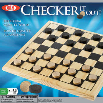 Ideal Checker It Out! Game
