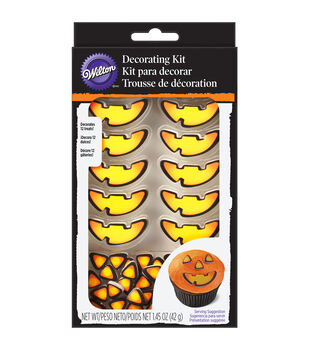 Wilton® Cupcake Decorating Kit Makes 12-Jack O'lantern