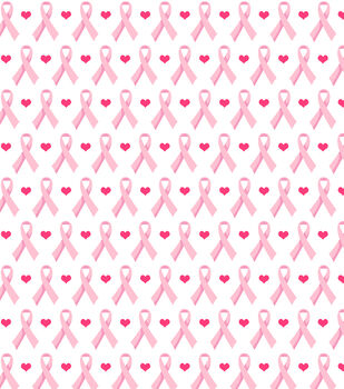 Snuggle Flannel Fabric-Hearts And Ribbons Pink