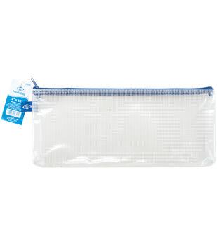 "Clear Mesh Bag with Zipper-5""x13"""