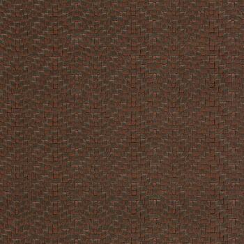 Upholstery Vinyl- Wicker Pk Chocolate