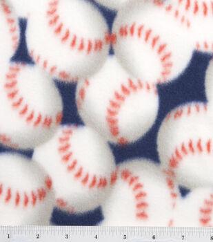 Blizzard Fleece Fabric-Packed Baseballs