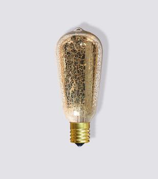 Hudons 43™ 2pk E17 ST40 Mercury Finished Bulbs