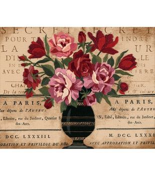 Dimensions Crewel Kit Parisian Bouquet