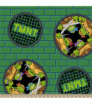 Nickelodeon Teenage Mutant Ninja Turtles Badge Fleece, , hi-res