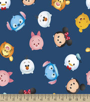 Disney® Mickey & Friend Print Fabric-Tsum Tsum, , hi-res