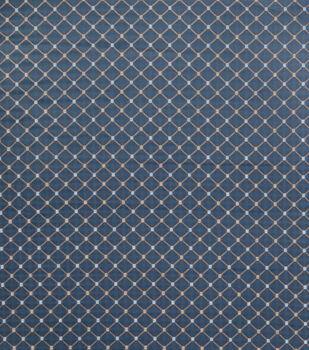 Jaclyn Smith Upholstery Fabric-Forward Rot/ Cobalt