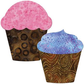 GO! Fabric Cutting Dies-Cupcake