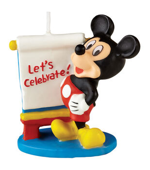 """Wilton® Candle 3"""" 1/Pkg-Mickey Mouse"""