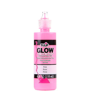 Tulip Dimensional Fabric Paint 4oz- Glow in the Dark