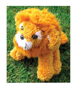 "Huggables 16"" Latch Hook Kit-Lion"