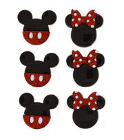 Dress It Up Licensed Embellishments- Disney Mickey & Minnie, , hi-res