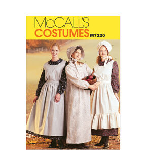 Vintage Aprons, Retro Aprons, Old Fashioned Aprons & Patterns McCalls - Pattern M7220 - Misses Costumes - Sizes 8-10 - Patterns - At JOANN Fabrics  Crafts $13.95 AT vintagedancer.com
