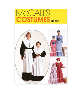 Victorian Edwardian Apron, Maid Costume & Patterns McCalls - Pattern M7230 - MissesGirls Costumes - Sizes 8-10 - Patterns - At JOANN Fabrics  Crafts $13.95 AT vintagedancer.com