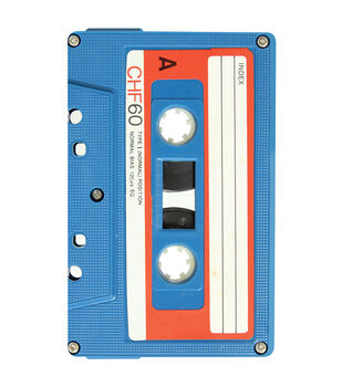 Paper House® 4''x6'' 96 Page Tricky Notebook-Mix Tape
